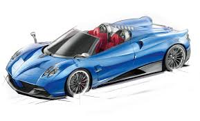 pagani drawing official pagani huayra roadster 100 units all sold out gtspirit