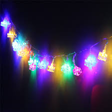 Battery Operated Christmas String Lights by Ice Cube Battery Operated Led Christmas String Lights Torchstar