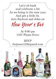 invitations for new years eve party new year u0027s eve party invitations 2018
