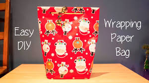 where to find wrapping paper how to make a gift bag out of wrapping paper