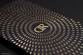 Business Cards With Foil Luxury Business Cards Free Business Card Templates Rockdesign