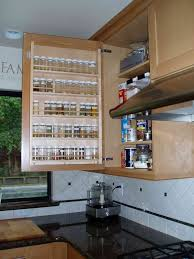 Kitchen Cabinet Door Spice Rack Kitchen Cabinet Spice Rack Mesmerizing 16 15 Creative Storage