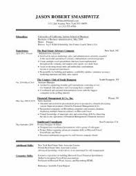 examples of resumes effective sample college student new resume
