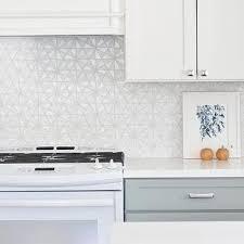 hexagon tile kitchen backsplash white iridescent hexagon tile kitchen backsplash tiles design