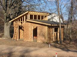 Roof Framing Pictures by Small Shed Roof House Shed Roof Plans How To Build Diy By