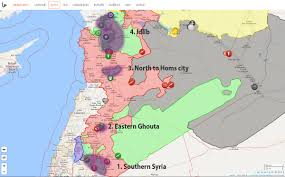Syria On A Map by Here U0027s The Full Text Of The Syria U201cde Escalation Zone U201d Memorandum