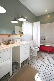 bathroom wallpaper for bathroom decorating ideas with claw foot