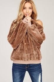 fur sweater winter sweater shaggy fur sweater cozy sweaters