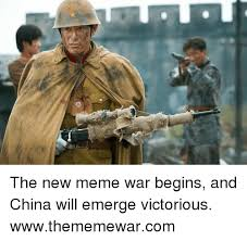 Meme China - the new meme war begins and china will emerge victorious