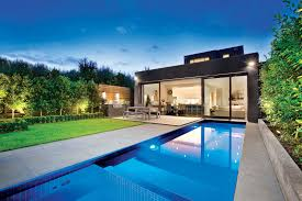 Backyard Pool Design by Swimming Pool Cool Exotic Long Backyard Pool Design Ideas With