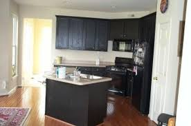 Classic Black And White Kitchen White And Dark Wood Kitchen Classic Dark Cherry Cabinet Geometric
