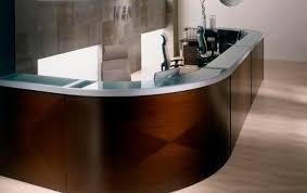 Mobile Reception Desk Astonishing Design Of U Shaped Reception Desk Beguile Blue Writing