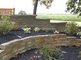 Rock Garden Wall Garden Walls Indiana Limestone