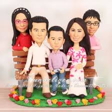 family cake toppers family cake topper for 10 year anniversary