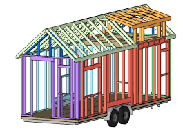 tiny house framing plans online u2013 choo choo tiny house