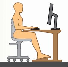 bonne position au bureau ergonomie la posture parfaite dans un bureau idéal