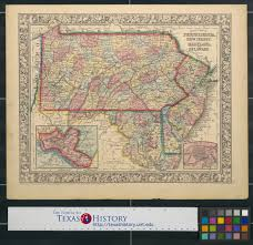 Map Of New Jersey And Pennsylvania by County Map Of Pennsylvania New Jersey Maryland And Delaware