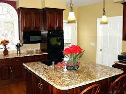 Best Paint Color For Kitchen With Dark Cabinets by Cherry Cabinet Kitchen U2013 Sequimsewingcenter Com