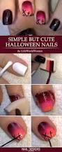 5 easy halloween nails tutorials naildesignsjournal com