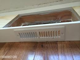 how to install kitchen cabinet base how to install a cabinet base with a floor vent sawdust