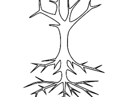 tree coloring pages nature coloringarena bare tree coloring pages