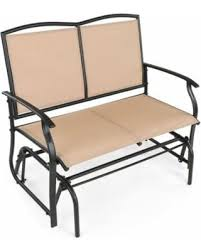 Garden Loveseat Spectacular Deal On Ikayaa 2 Person Patio Swing Glider Bench Chair