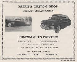 car ads in magazines barris magazine ads custom car chroniclecustom car chronicle