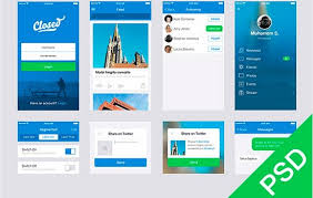 app design inspiration html css psd and more 24 free design resources from january