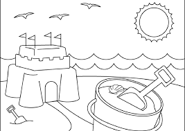 Beautiful Summer Coloring Pages Printable For Your Toddler Adult Summertime Coloring Pages
