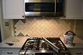 How To Install Herringbone TileLemon Grove Blog Lemon Grove Blog - Herringbone tile backsplash