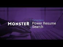 Monster Com Resume Search Monster Power Resume Search Guided Tour Youtube