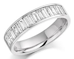 baguette wedding band channel set baguette diamond wedding ring wr2076 bespoke rings