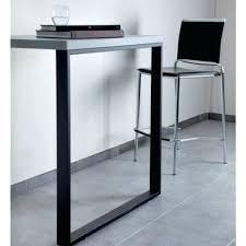 table cuisine rectangulaire pied table cuisine pied rectangulaire hauteur 875 ou 920 mm table de