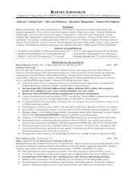 Operations Management Resume Examples Sales Resume Retail Sales Supervisor Resume Sample Production