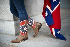 British Flag Boots Mourning Tunisia Massacre Dead Confederate Flags Fly Zombiewalk