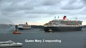 Queen Elizabeth Ii Ship by Queen Elizabeth U0026 Queen Mary 2 Royal Rendezvous Sydney Youtube