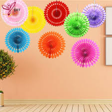 cheap paper fans 20cm cheap paper fans for wedding tissue paper fans flowers