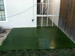 Stain Existing Concrete Patio by Concrete Staining Solid Impressions