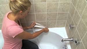 bathtub edging magic sealer trim rev 2 youtube