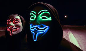 V For Vendetta Mask 79 Off On Glowing