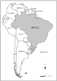 map of and south america black and white map of south america showing brazil and grande do sul state