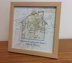 personalised map gift new home 17 50 cosmographics ltd