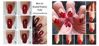 20 easy u0026 simple christmas nail art tutorials for beginners