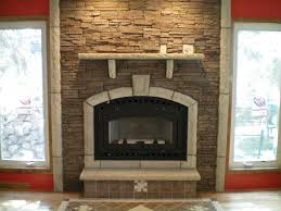 surprising faux stone for fireplace photo decoration ideas