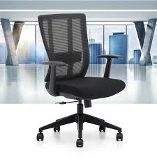 Office Swivel Chair Oseasons Mid Back Ergonomic Executive Desk Office Swivel Chair