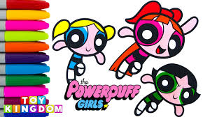 best learning colors video for children learn colors the powerpuff