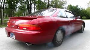 lexus v8 specs bone stock 1993 lexus sc400 burnout youtube