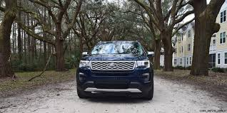 Ford Explorer Platinum - 2017 ford explorer platinum 4x4 hd road test review
