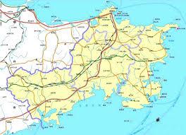 Qingdao China Map by Shandong China Map Weihai China U2022 Mappery