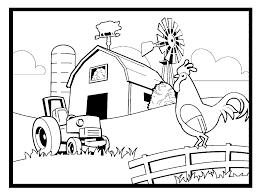 Coloring Pages Farming Scenes Az Coloring Pages Coloring Page Of Farm Color Page